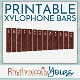 Xylophone Bar Manipulatives