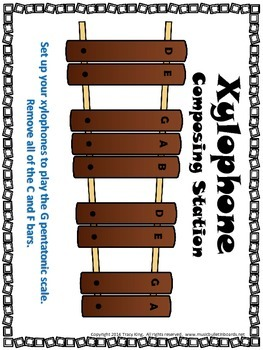 Xylophone Composing Workstation / Center for Music Class