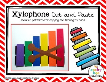 Xylophone Cut and Paste