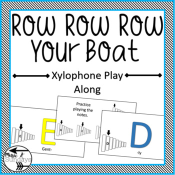 Xylophone Play Along Row Row Row Your Boat Powerpoint