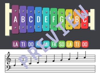 Xylophone Tone Scale