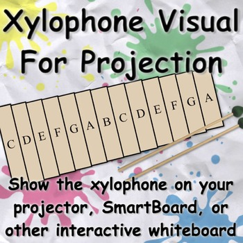 Xylophone Visual for SmartBoard