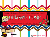 Uptown Funk- Xylophone and Classroom Percussion Instrument