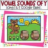 Y as a Vowel | Phonics Activity | Google Slides™