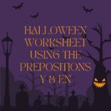 Y & En Halloween Sentences