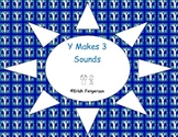 Y Makes 3 Sounds - 5 Activities