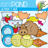 Y Set - Graphics for Phonics - Short Initial Yy Sound