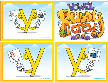 Y Vowel Buddy Combo Pack (Tags and Posters)