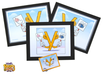 Y Vowel Buddy Combo Pack (Cards and Posters)