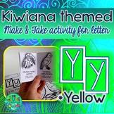 Y = Yellow {Kiwiana Themed 'Make & Take' Alphabet Set}