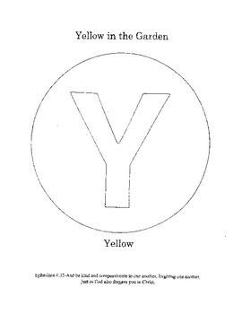 Y - Yellow in the Garden
