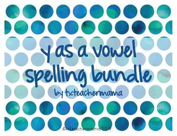 Y as Vowel Sort