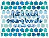 Y as Vowel Sort