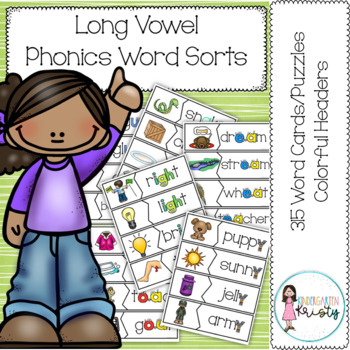 Long Vowel Word Sorts/Puzzles