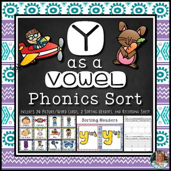Y as a Vowel: Phonics Sort