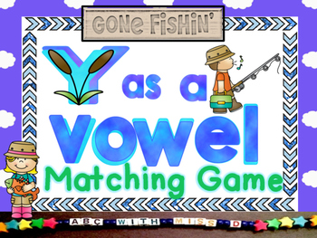 Y as a Vowel-Sorting and Matching Literacy Center Game