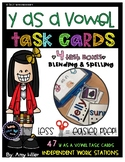 Y as a Vowel Task Cards [Task Box]