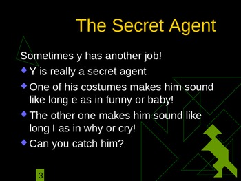 Y is a Spy!  Power Point-