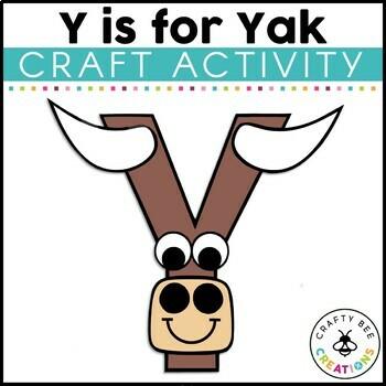 Letter Y Craft {Yak}