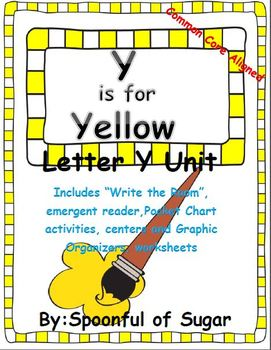 Y is for Yellow (Letter Y Unit)