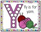 Y is for Yarn Activity Pack Alphabet Common Core Preschool Toddler