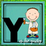 Y is for Yucky Experiments Themed Unit-Preschool Lesson Plans (one week)