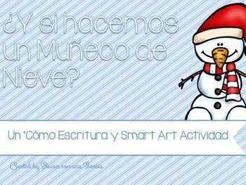 ¿Y si hacemos un Muñeco de Nieve?