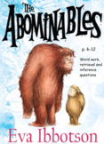 Y3 / Y4 The Abominables (by Eva Ibbotson) p.6-12 whole cla