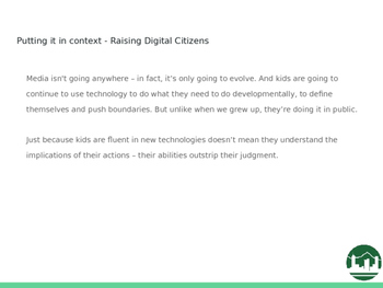 Y4 - 6 Digital Citizenship/Cyber Safety