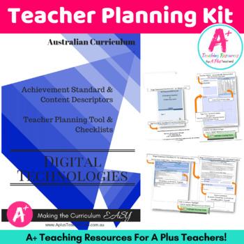 Y5 - Y6 DIGITAL Technologies Australian Curriculum Checklists