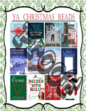 YA Christmas Reads!!  Book Recommendations Poster