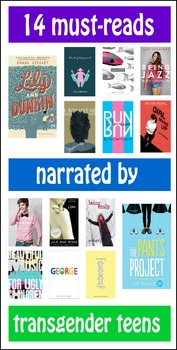 YA/MG Poster and Annotated Bibliography: Transgender Narrators