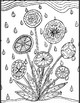 YA (Middle Years/High School) Coloring Pages - Flowers