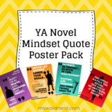 YA Novel Mindset Poster Pack