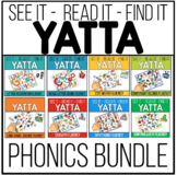 YATTA Phonics Skills Bundle - In Color and Black/White (Gr