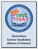 """{Free} Vocabulary Review Game-""""You Can't Say That!""""-Elemen"""