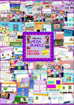 YEAR 1 Maths Smart Notebook and Unit of Work Other Strand MEGA BUNDLE 1