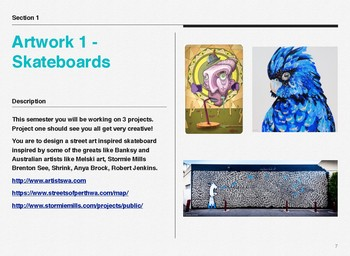 YEAR 10 Visual Arts Semester Bundle