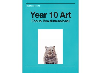 YEAR 10 Visual Arts Semester Bundle