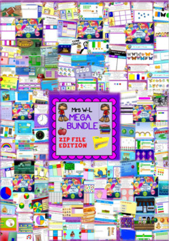 YEAR 2 Maths Smart Notebook and Unit of Work MEGA BUNDLE 1