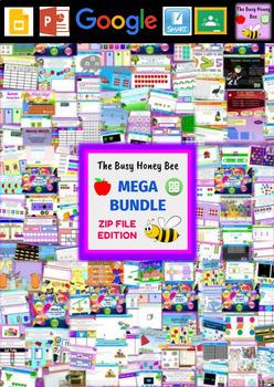 YEAR 2 Maths Smart Notebook and Unit of Work MEGA BUNDLE 2