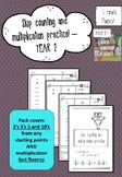 YEAR 2 Skip Counting and Multiplication Fact Fluency - Mat