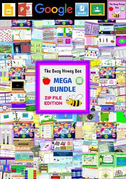YEAR 3 Maths Smart Notebook and Unit of Work MEGA BUNDLE 1