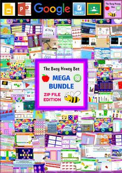 YEAR 3 Maths Smart Notebook and Unit of Work MEGA BUNDLE 3