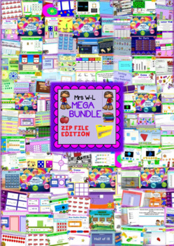 YEAR 4 Maths Smart Notebook and Unit of Work MEGA BUNDLE 3