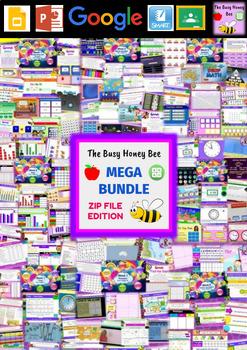 YEAR 6 Maths Smart Notebook and Unit of Work MEGA BUNDLE 1