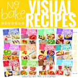 YEAR BUNDLE Visual Recipes with REAL pictures - Cooking in the Classroom