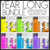 YEAR-LONG 1st Grade MATH BUNDLE | DAILY LESSONS | Distance