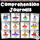 YEAR LONG Comprehension Journals Bundle:  Monthly Comprehe