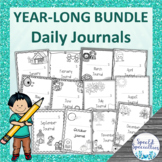 YEAR-LONG Daily Journal Writing for Special Education BUNDLE